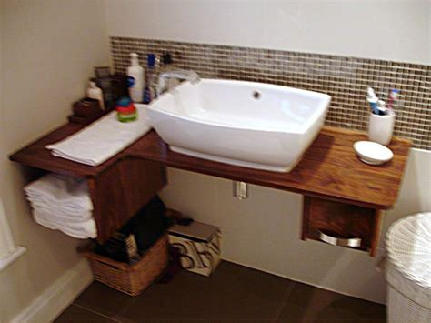Wooden Sink Unit By Brian Hayes Furniture Belfast