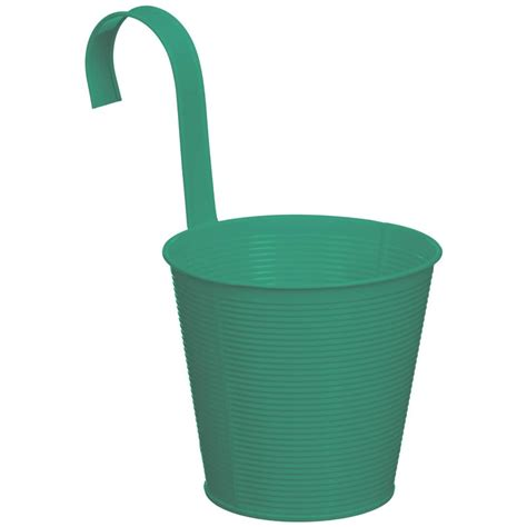 ribbed hooked decorative planter garden planters bm
