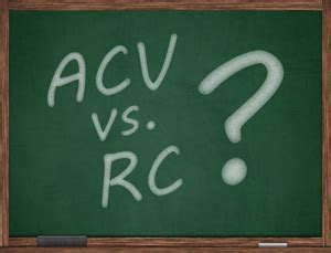 actual value acv vs replacement cost rc