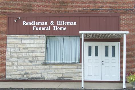 rendleman hileman funeral homes locations