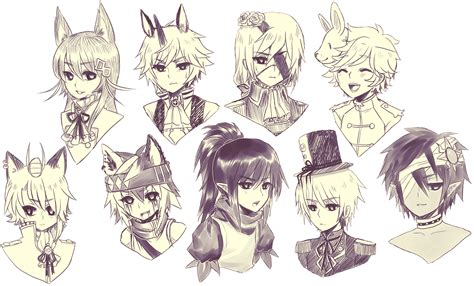 Drawing Your Ocs by Ocs Sausage Lol By Onisuu On Deviantart