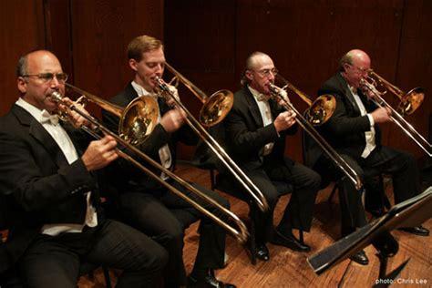 trombone section joseph alessi trombonist
