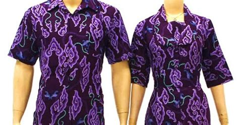 Baju Batik Nu baju batik modern wanita pria sarimbit pekalongan