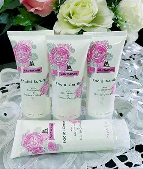Scrub Msi msi glutacare scrub agen produk kecantikan