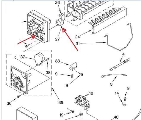 Kitchenaid Refrigerator Parts Near Me In Troubleshooting A Kitchenaid Superba Mod Ksc525fkss01 I