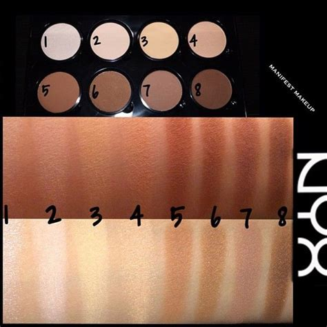 Nyx Highlight And Contour Powder nyx professional makeup highlight contour pro palette