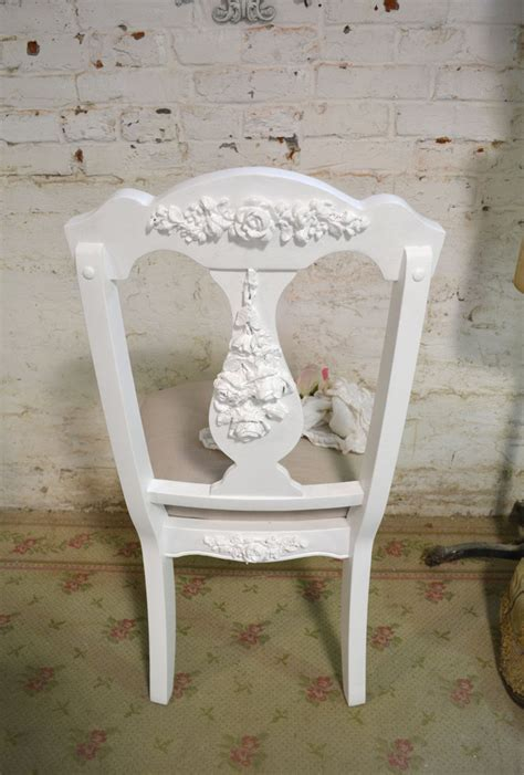 shabby chic desk chairs painted cottage chic shabby dining desk chair