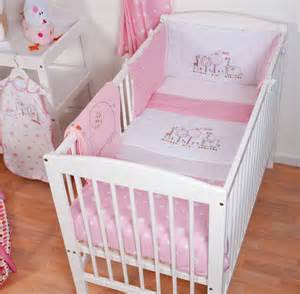 Beds For Babies Red Kite Cosi Cot 4 Piece Bedding Set Pink Hello Ernest