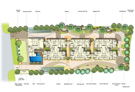 House Ground Floor Plan Design by Mantri Glades Floor Plan Glades Landscape 2 2 5 3 Bhk