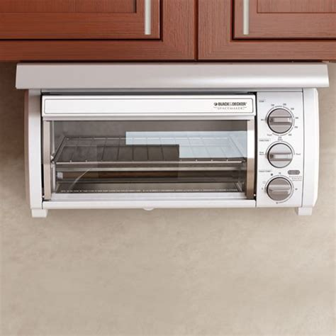 under cabinet appliances kitchen black decker space maker under the cabinet toaster