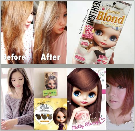 jual schwarzkopf freshlight foam color ready 4 color