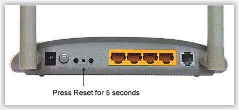 how to reset tp link wifi installation