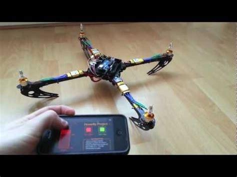 arduino code for quadcopter arduino quadcopter phase 2 mobile control youtube