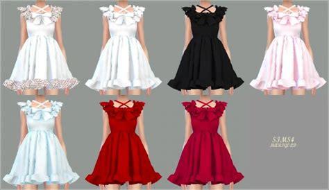 Princess Home Decor sims4 marigold pure doll dress sims 4 downloads