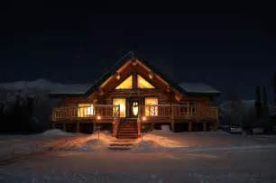 the beautiful lodge picture of log cabin wilderness