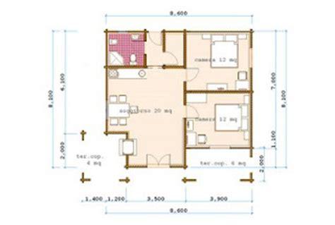 Casa 60 Mq by Progetti Di In Legno Casa 60 Mq Terrazza Coperta 10 Mq