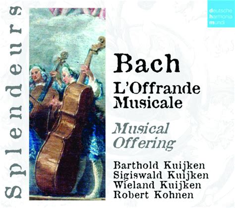 bach musikalisches opfer the musical offering l musikalisches opfer musical offering bwv 1079 sonata