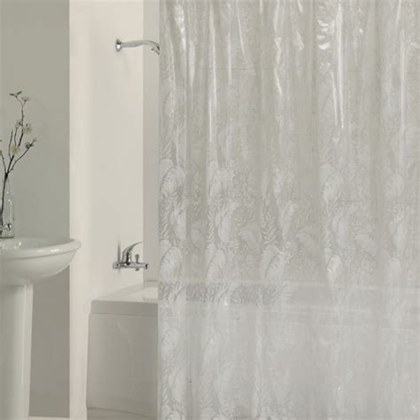peva shower curtain peva shower curtain tara lace walmart com