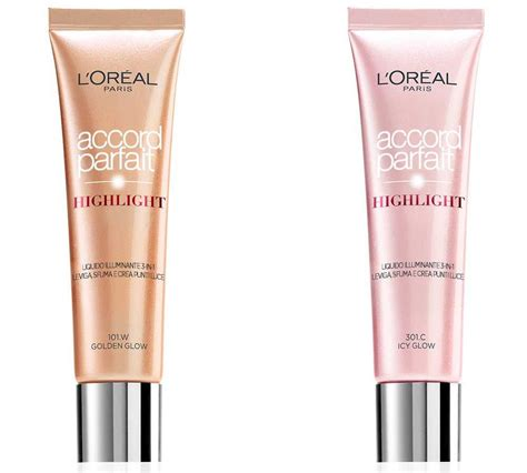 illuminante l oreal l oreal accord parfait highlight nuovi illuminanti viso