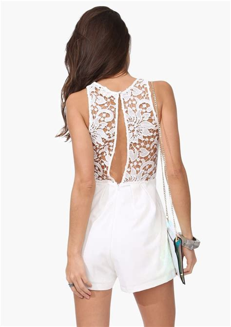 Guess Gs White Lace Romper 17 best images about rehearsal jumpsuits on wedding jumpsuit rompers and