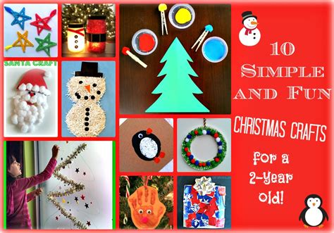 christmas crafts for 3 year old 10 simple and crafts for a 2 year