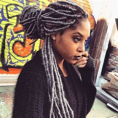 protective styl for dreads pics best 25 grey box braids ideas on pinterest box braid