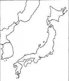 Outline Map Of China Korea And Japan blank japan map