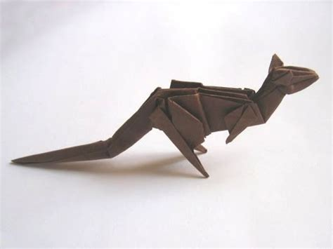 Stephen Weiss Origami - origami kangaroo by stephen weiss part 1 of 2