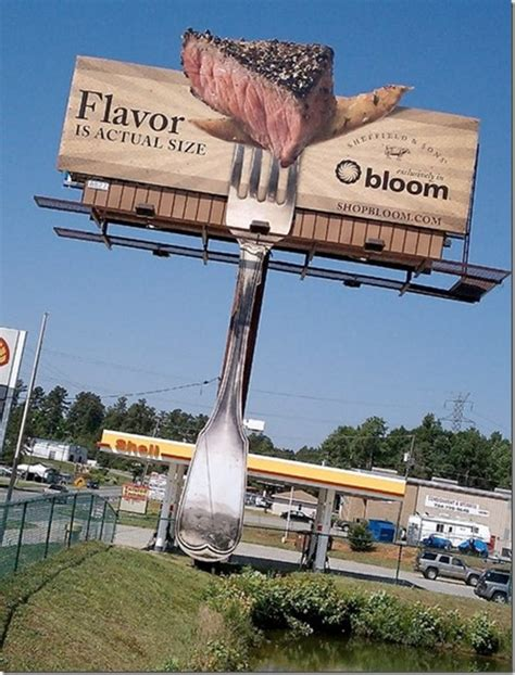 outdoor advertising ideas 27 unforgettable billboard advertisements