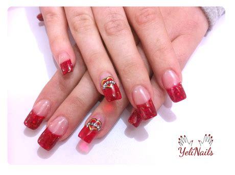 fotos de uñas de acrilico rojas u 241 as de acrilico rojas imagui