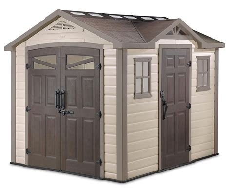 Resin Storage Sheds 23 Awesome Plastic Garden Storage Sheds Pixelmari