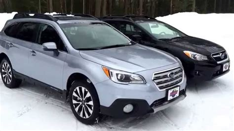 subaru outlander vs outback subaru outback vs subaru crosstrek youtube