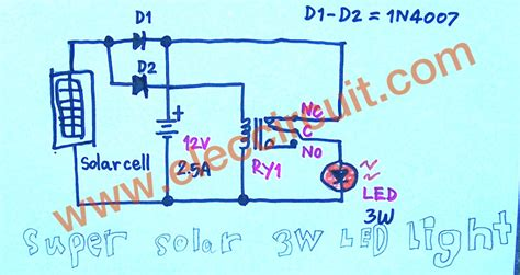 wiring diagram for solar lights wiring diagram gw micro