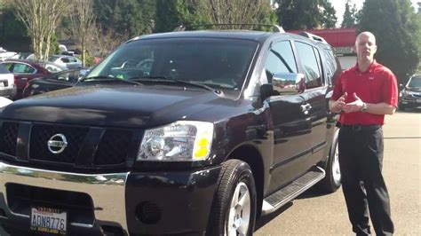 2006 Nissan Armada Review by 2004 Nissan Armada Review In 3 Minutes You Ll Be An