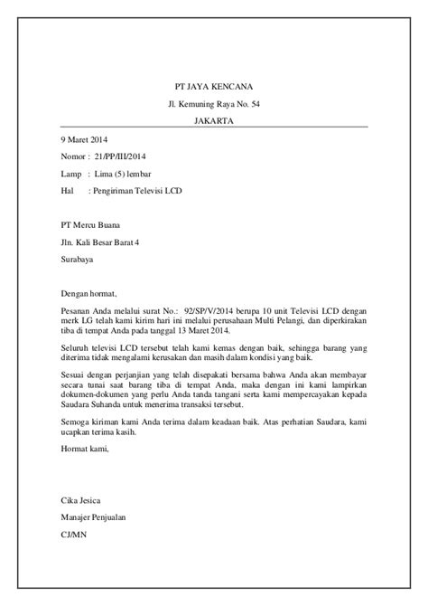 9 contoh surat resmi yang 100 images contoh surat formal surat