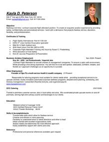 Flight Attendant Resume Templates by 10 Tips In Writing A Flight Attendant Resume Resume Writing Services Org