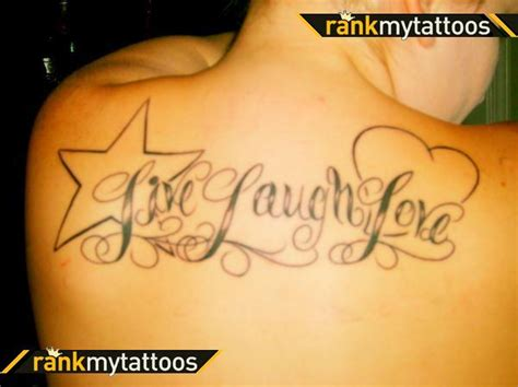 live love learn tattoo designs live laugh back tattoomagz