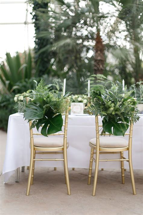 Greenery Wedding Decor Wisley Venue Hire Botanical Wedding