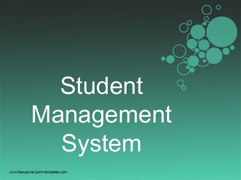 Management Student student management system project report c