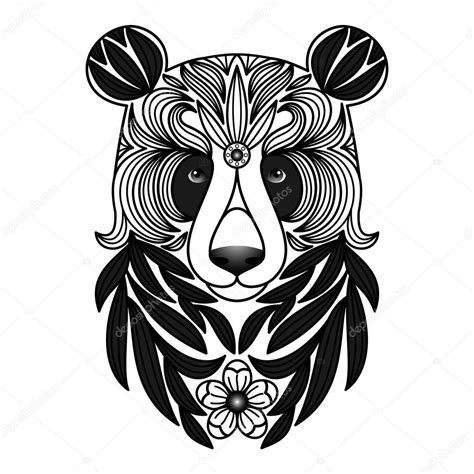 imagenes tatuajes blanco y negro tatuaje de panda blanco y negro archivo im 225 genes
