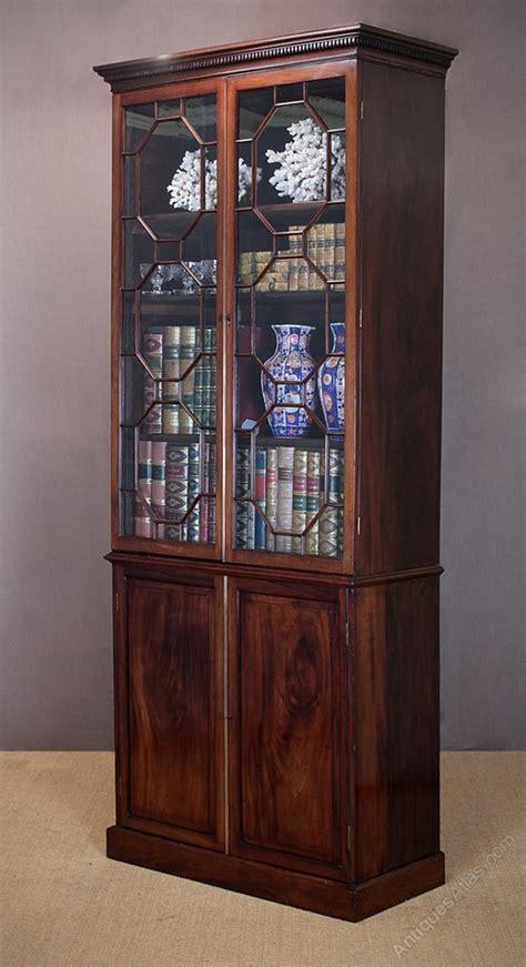 Narrow Mahogany Bookcase Narrow Mahogany Bookcase C 1890 Antiques Atlas