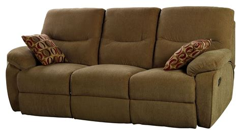 Cocoa Reclining Sofa by Manchester Cocoa Dual Reclining Sofa From New Classics 20