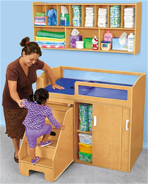 Daycare Changing Tables Step On Up Toddler Changing Table 749 00 Changing Station Wall Unit 199 00 948 00