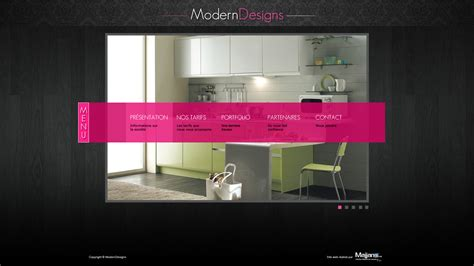 interior designer website website template interior design by mehdiway on deviantart