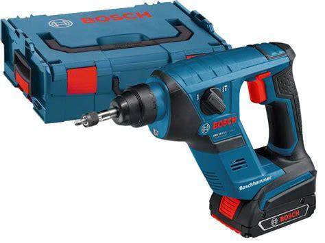 bosch 18v kits bosch gbh18vlicp 18v compact sds hammer drill kit 2 x 2 0ah