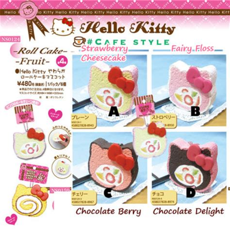 Squishy Hello Cake No sanrio licensed authentic jumbo hello cake roll