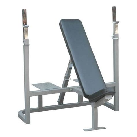 bench with spotter chion barbell incline weight bench with spotter