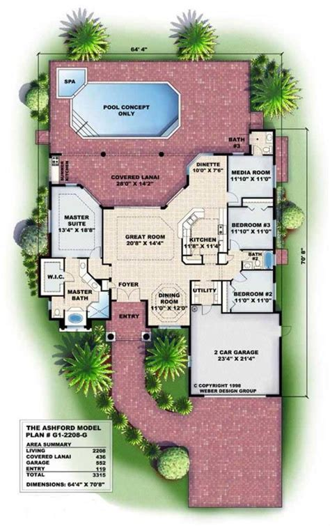 Florida Home Floor Plans by Brooksville Florida Architects Fl House Plans Home Plans