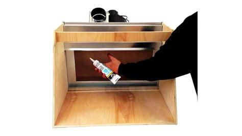 diy hobbies diy hobby spray booth vent works