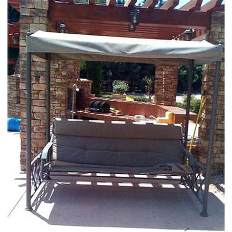 swing costco replacement canopy for gazebo frame swing garden winds